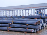 Rebar cutting, rebar shearing, rod cutting, armature cutting, steel processing